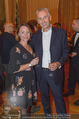 Premierenfeier und Empfang - Französische Botschaft - Mi 04.10.2017 - Franz SOLTA mit Ehefrau Lisa30