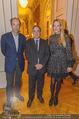 Premierenfeier und Empfang - Französische Botschaft - Mi 04.10.2017 - Fran�ois SAINT PAUL, Christoph und Eva DICHAND33