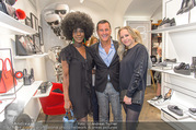 Store Opening - Lagerfeld Store - Do 05.10.2017 - Doretta CARTER, Pier Paolo RIGHI, Nina PROLL79