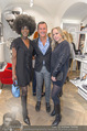 Store Opening - Lagerfeld Store - Do 05.10.2017 - Doretta CARTER, Pier Paolo RIGHI, Nina PROLL80