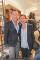 Store Opening - Lagerfeld Store - Do 05.10.2017 - Pier Paolo RIGHI mit Ehefrau Iris107