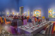 Fundraising Dinner - Leopold Museum - Di 10.10.2017 - Dinner R�umlichkeiten, Tische, essen, Tafel7