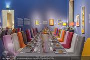 Fundraising Dinner - Leopold Museum - Di 10.10.2017 - Dinner R�umlichkeiten, Tische, essen, Tafel8