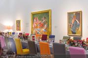 Fundraising Dinner - Leopold Museum - Di 10.10.2017 - Dinner R�umlichkeiten, Tische, essen, Tafel9