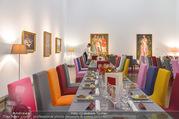 Fundraising Dinner - Leopold Museum - Di 10.10.2017 - Dinner R�umlichkeiten, Tische, essen, Tafel10
