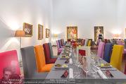 Fundraising Dinner - Leopold Museum - Di 10.10.2017 - Dinner R�umlichkeiten, Tische, essen, Tafel11