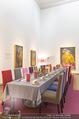 Fundraising Dinner - Leopold Museum - Di 10.10.2017 - Dinner R�umlichkeiten, Tische, essen, Tafel12