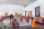 Fundraising Dinner - Leopold Museum - Di 10.10.2017 - Dinner R�umlichkeiten, Tische, essen, Tafel13