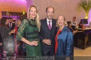 Fundraising Dinner - Leopold Museum - Di 10.10.2017 - Christoph und Eva DICHAND, Agens HUSSLEIN34