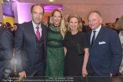 Fundraising Dinner - Leopold Museum - Di 10.10.2017 - Christoph und Eva DICHAND, Eva-Maria und Christian H�FER37