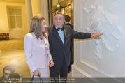 Richard Lugner 85er - Stadtpalais Liechtenstein - Sa 14.10.2017 - Richard LUGNER mit Andrea (vom Badesee)2