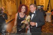 Richard Lugner 85er - Stadtpalais Liechtenstein - Sa 14.10.2017 - Christina LUGNER, Richard LUGNER32