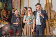 Richard Lugner 85er - Stadtpalais Liechtenstein - Sa 14.10.2017 - Andreas LUGNER mit Tochter Alina und Freundin Aline45