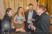 Richard Lugner 85er - Stadtpalais Liechtenstein - Sa 14.10.2017 - Andreas LUGNER mit Tochter Alina und Freundin Aline, Richard LUG47