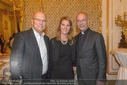 Richard Lugner 85er - Stadtpalais Liechtenstein - Sa 14.10.2017 - Toni Anton FABER, Frank HENSEL mit Begleitung (Angela?)64