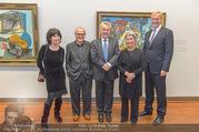 10 Jahre Sammlung Batliner - Albertina - Di 17.10.2017 - Klaus Albrecht SCHR�DER, Heinz und Margit FISCHER, Michael und 14