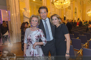 10 Jahre Sammlung Batliner - Albertina - Di 17.10.2017 - Elisabeth G�RTLER mit Tochter Ali, Matthias WINKLER71