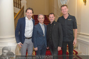 Gault Millau - Palais Coburg - Do 19.10.2017 - Simon TAXACHER, Heinz REITBAUER, Karl OBAUER, Silvio NICKOL5