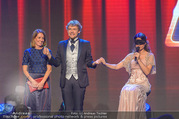Ronald McDonald Kinderhilfegala - Messe Wien - Fr 20.10.2017 - Thommy TEN, Amelie VAN TASS (The Clairvoyants) (B�hnenfoto)247