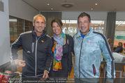 RADO ProAm Promi Tennis Turnier - Colony Club - So 22.10.2017 - Susanne MINICHSDORFER, Viktor GERNOT, Michael KONSEL1