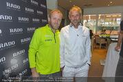 RADO ProAm Promi Tennis Turnier - Colony Club - So 22.10.2017 - Thomas MUSTER, Stefan KOUBEK11