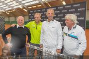 RADO ProAm Promi Tennis Turnier - Colony Club - So 22.10.2017 - Thomas MUSTER, Stefan KOUBEK, Hans KARY13