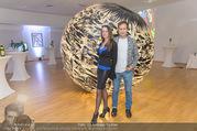 Brigitte Just Ausstellungseröffnung - Raiffeisenbank Stockerau - Di 24.10.2017 - Brigitte JUST, Thomas HERZIG23