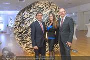 Brigitte Just Ausstellungseröffnung - Raiffeisenbank Stockerau - Di 24.10.2017 - 25
