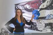 Brigitte Just Ausstellungseröffnung - Raiffeisenbank Stockerau - Di 24.10.2017 - Brigitte JUST31