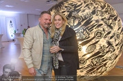 Brigitte Just Ausstellungseröffnung - Raiffeisenbank Stockerau - Di 24.10.2017 - Christian CERNY-WOLF, Sandra-Maria SORAVIA-LEPUSCHITZ46