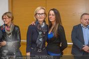 Brigitte Just Ausstellungseröffnung - Raiffeisenbank Stockerau - Di 24.10.2017 - 55