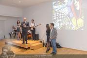 Brigitte Just Ausstellungseröffnung - Raiffeisenbank Stockerau - Di 24.10.2017 - 64