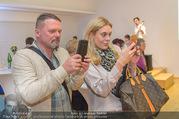 Brigitte Just Ausstellungseröffnung - Raiffeisenbank Stockerau - Di 24.10.2017 - Christian CERNY-WOLF, Sandra-Maria SORAVIA-LEPUSCHITZ80
