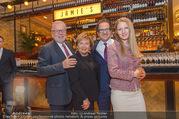 Jamie Oliver Restaurantopening - Jamie´s - Mi 25.10.2017 - Roy ZSIDAI mit Ehefrau Lidia und Vater Peter und Mutter Ilona5