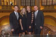 100 Jahre Juwelier Wagner - Palais Ferstel - Do 09.11.2017 - Familie Hermann und Katharina GMEINER-WAGNER mit Kindern Antonia1