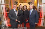 100 Jahre Juwelier Wagner - Palais Ferstel - Do 09.11.2017 - Hermann und Katharina GMEINER-WAGNER, Wolfgang und Angelika ROSA22