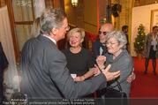 100 Jahre Juwelier Wagner - Palais Ferstel - Do 09.11.2017 - Hermann GMEINER-WAGNER, Elisabeth ORTH, Karin BERGMANN, Michael 27
