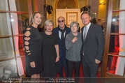 100 Jahre Juwelier Wagner - Palais Ferstel - Do 09.11.2017 - Hermann und Katharina GMEINER-WAGNER, Elisabeth ORTH, Karin BERG28