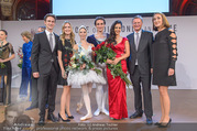 100 Jahre Juwelier Wagner - Palais Ferstel - Do 09.11.2017 - Hila FAHIMA, Maria YAKOVLEVA, Roman LAZIK, Familie GMEINER-WAGNE158
