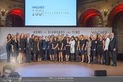100 Jahre Juwelier Wagner - Palais Ferstel - Do 09.11.2017 - Firma WAGNER Gruppenfoto Mitarbeiter177