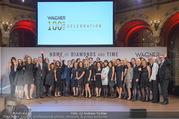 100 Jahre Juwelier Wagner - Palais Ferstel - Do 09.11.2017 - Firma WAGNER Gruppenfoto Mitarbeiter180