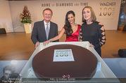 100 Jahre Juwelier Wagner - Palais Ferstel - Do 09.11.2017 - Hila FAHIMA, Hermann und Katharina GMEINER-WAGNER183