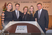 100 Jahre Juwelier Wagner - Palais Ferstel - Do 09.11.2017 - Elisabeth G�RTLER, Familie Hermann und Katharina GMEINER-WAGNER188