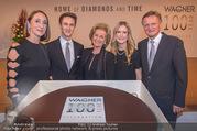 100 Jahre Juwelier Wagner - Palais Ferstel - Do 09.11.2017 - Elisabeth G�RTLER, Familie Hermann und Katharina GMEINER-WAGNER189