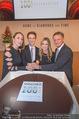 100 Jahre Juwelier Wagner - Palais Ferstel - Do 09.11.2017 - Familie Hermann und Katharina GMEINER-WAGNER mit Kindern Antonia191