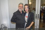 Nestroy Gala 2017 - Ronacher - Mo 13.11.2017 - Noemi Maddalena HIRSCHAL mit Vater Adi HIRSCHAL4