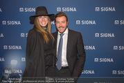 Signa Törggelen - Park Hyatt - Do 16.11.2017 - Rene BENKO mit Ehefrau Natalie52