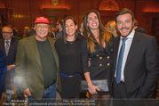 Signa Törggelen - Park Hyatt - Do 16.11.2017 - Niki und Birgit LAUDA, Rene BENKO mit Ehefrau Natalie74