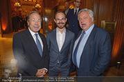 Signa Törggelen - Park Hyatt - Do 16.11.2017 - Erich HAMPEL mit Sohn Andreas, Wolfgang FELLNER147