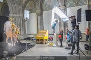 Lifeball Fotoshooting Netrebko - Conchita - Rathaus - Fr 17.11.2017 - Anna NETREBKO am Set38